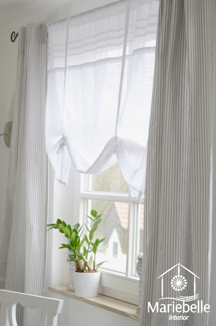 vorhang gardine champagne 100x250 cm 2 st ck set shabby landhaus franske cottage ebay. Black Bedroom Furniture Sets. Home Design Ideas